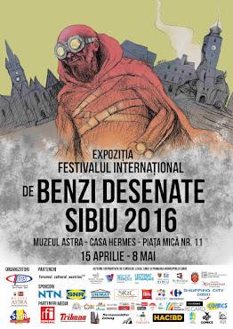 """Expoziția """"Festivalul Internațional de Benzi Desenate la Muzeul ASTRA"""""""