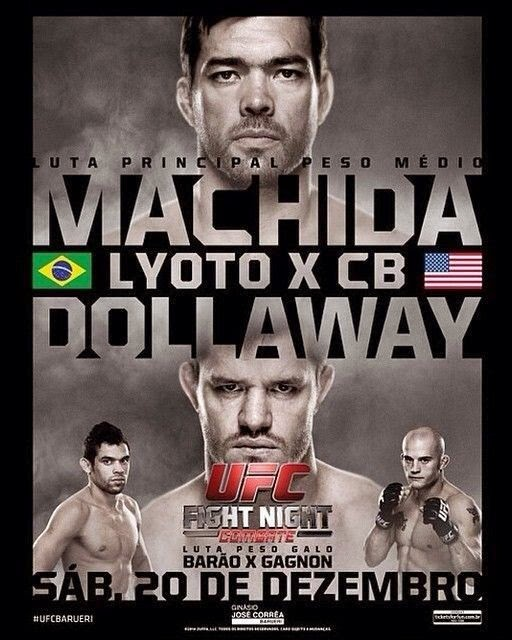 Download - UFC Fight Night: Machida vs. Dollaway (Português) 720p - COMPLETO
