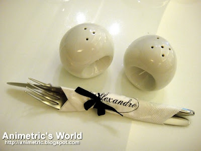 Utensils at Alexandre