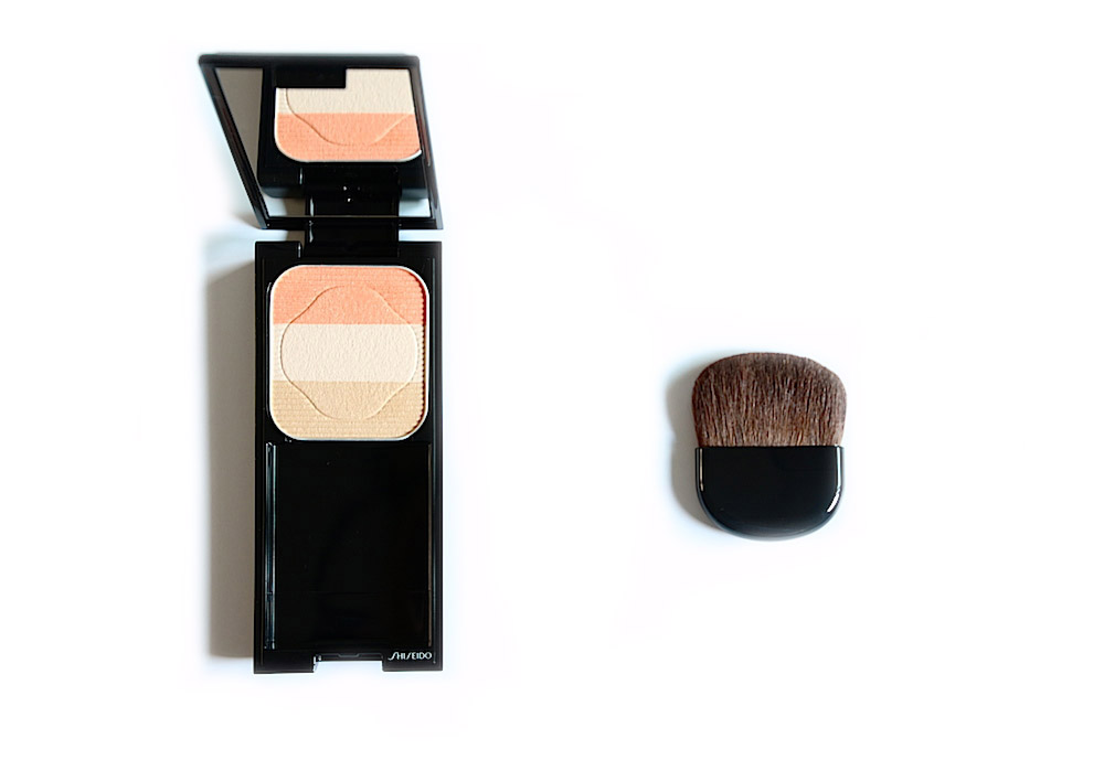 shiseido face color enhancing trio rehausseur visage trio contouring avis test