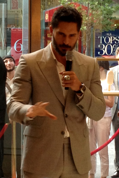 Joe Manganiello launches the Magnum Pleasure Store