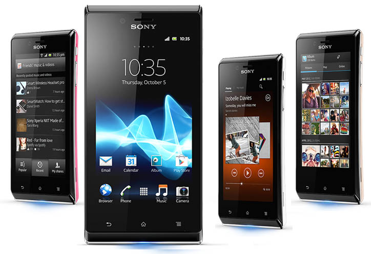 Xperia M Specification Sony Xperia-J ST26i Sp...