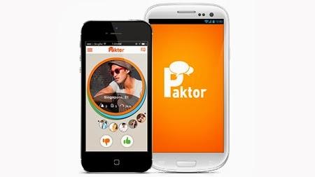 Ứng dụng xã hội hẹn hò Paktor đã có mặt tại Việt Nam