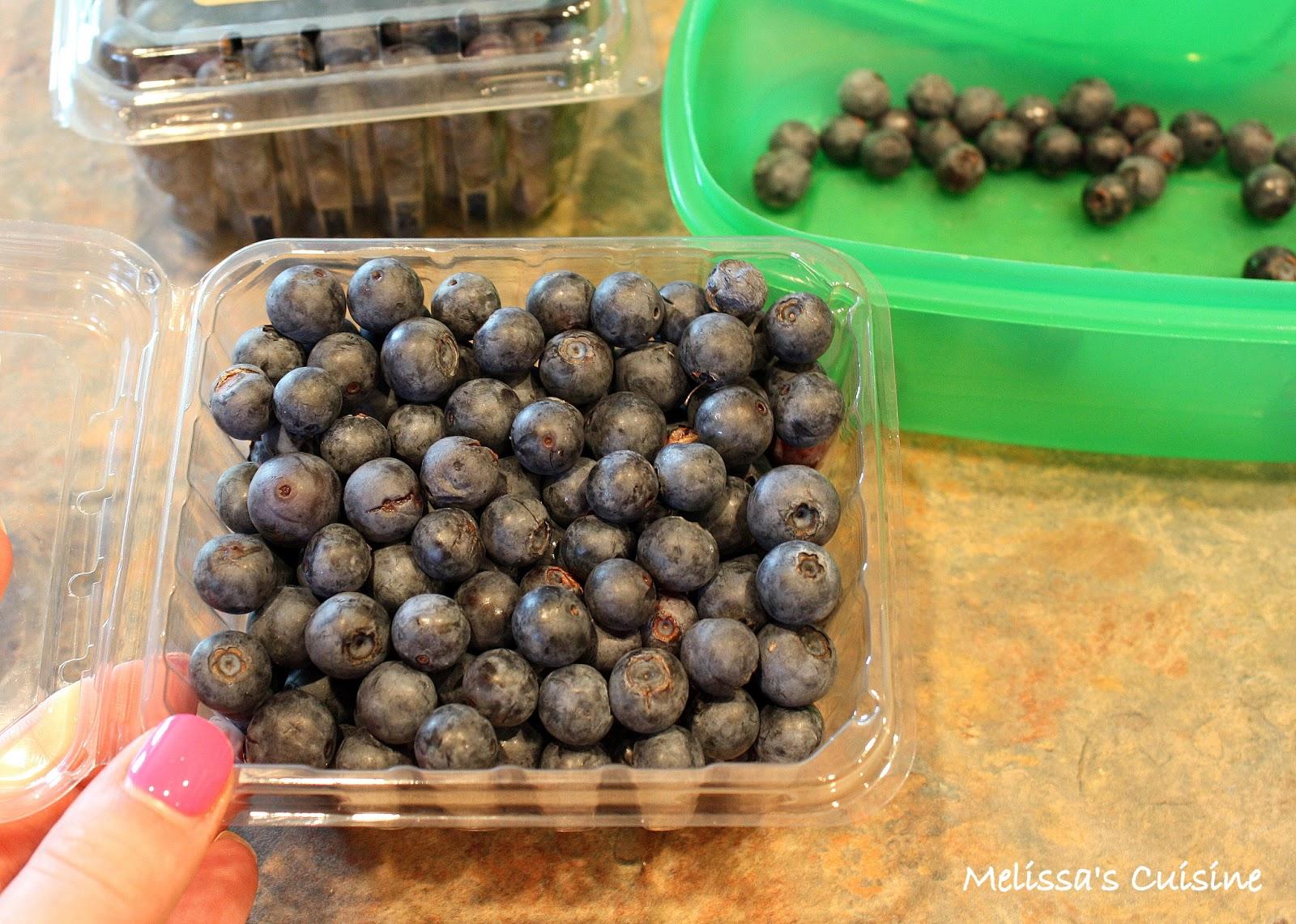 Melissa's Cuisine: Blueberries: Tips and Tricks