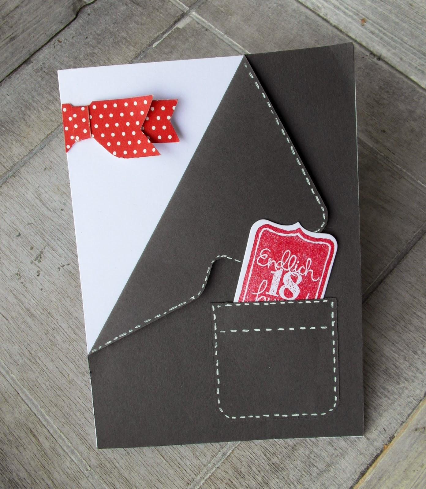 Haus voller ideen papierschleifen mit dem envelope punchboard for Selbstgemachte geburtstagskarten