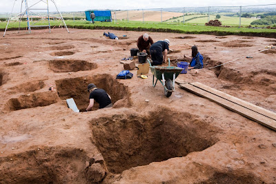 Third season dig begins in Maryport