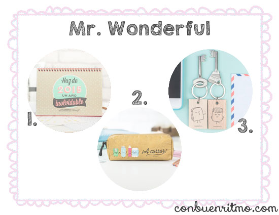 5 tiendas bonitistas: Mr. Wonderful