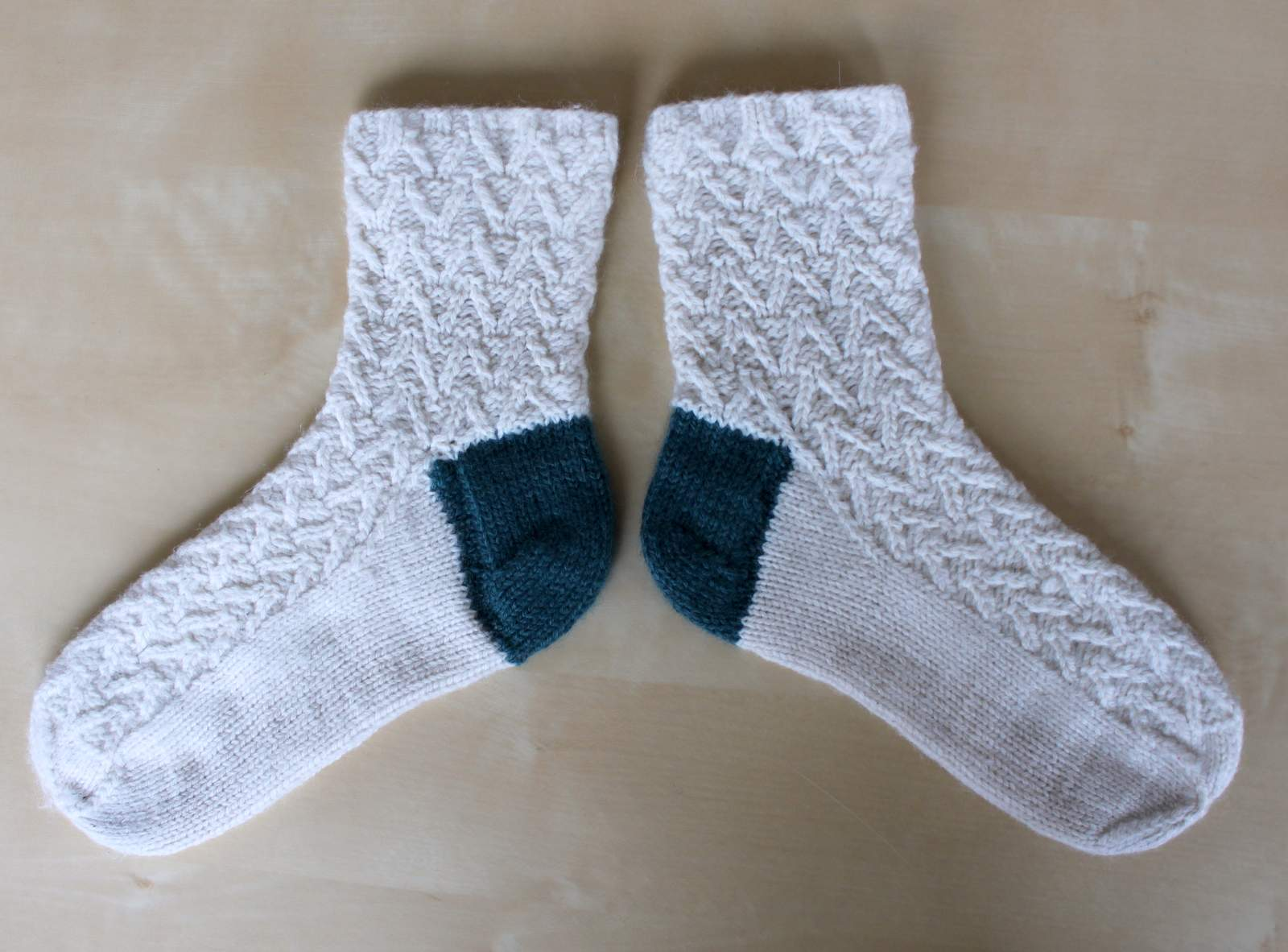 Hand Knitted Things: Knitted Sock Heel Repair
