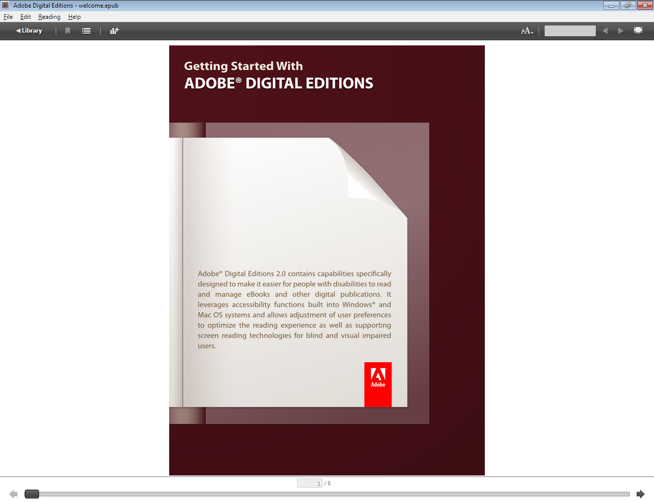 Epub Reader: Adobe Digital Editions - Mabzicle