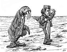 walrus and carpenter