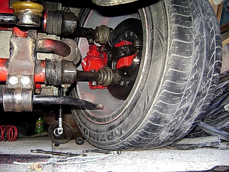 Как сделать дисковые тормоза на заз 968