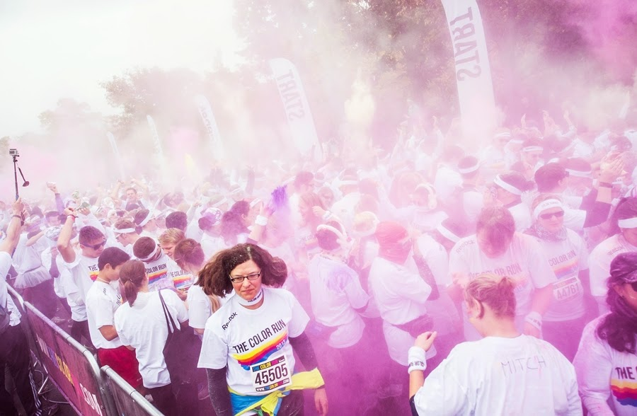 pink color run erlin