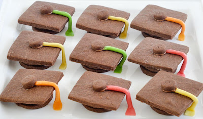 Graduation Hat Cookies