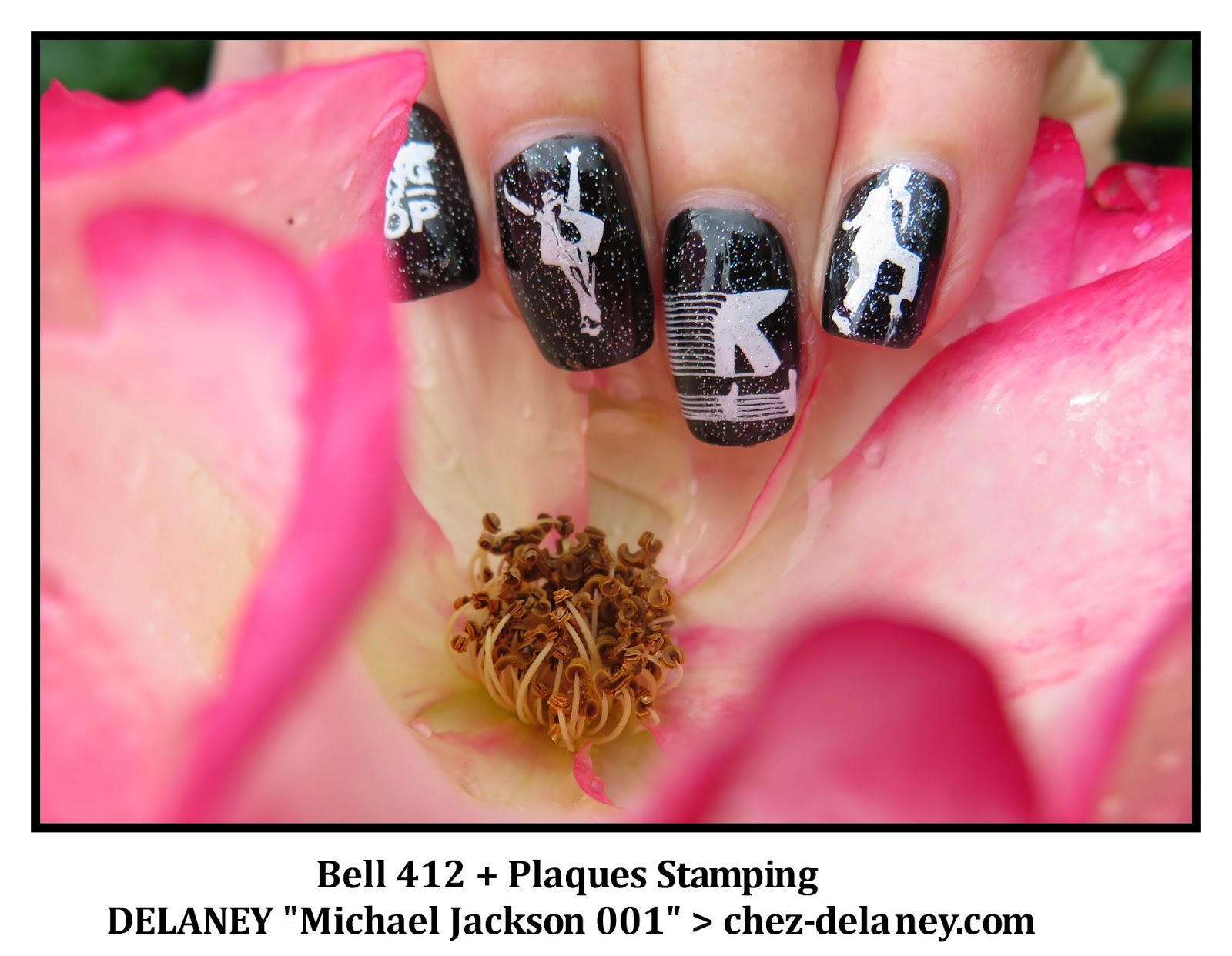 Nail art michael jackson plaque stamping delaney chez delaney nail art michael jackson plaque stamping delaney prinsesfo Gallery