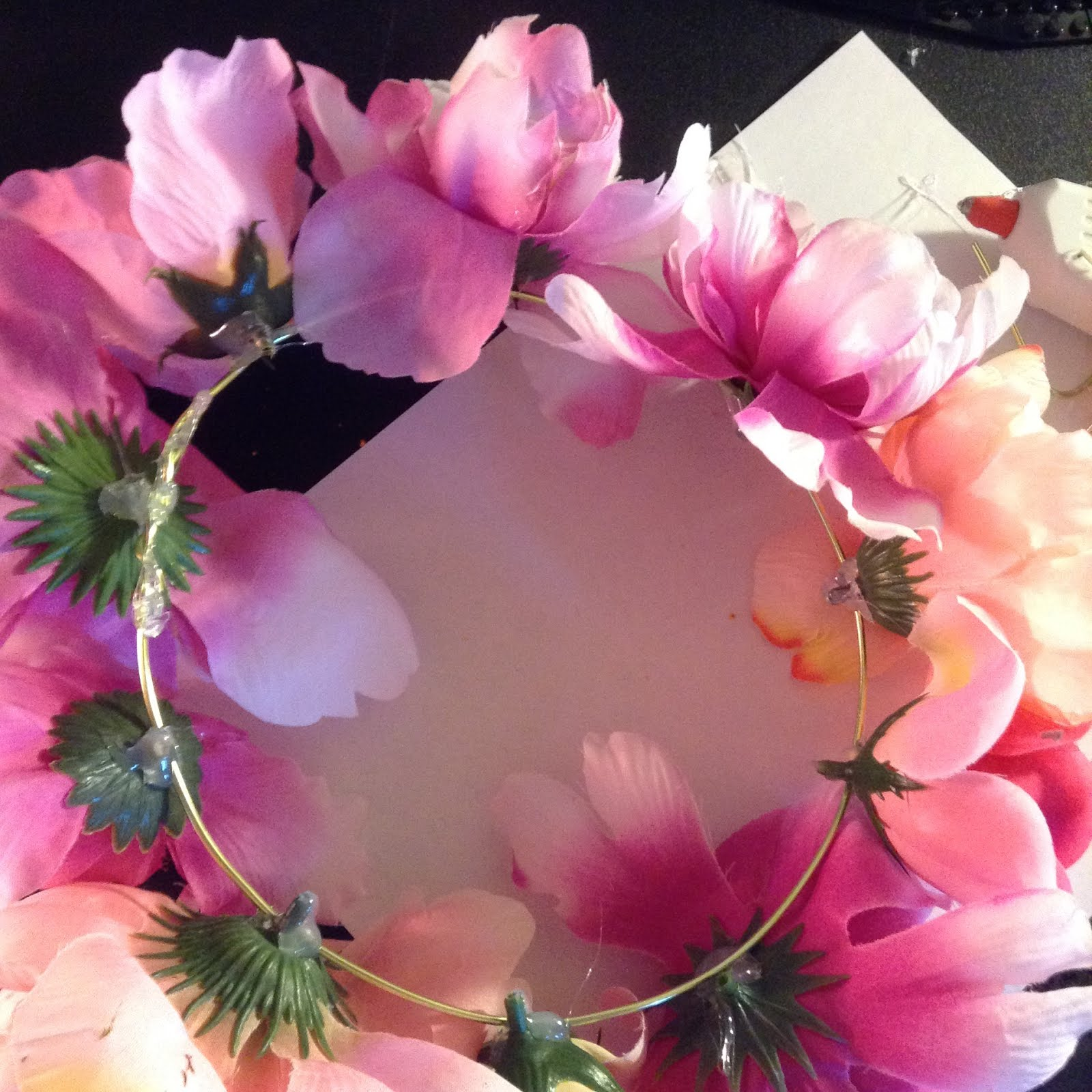 Wonderlandiful Crafts Diy Flower Crown