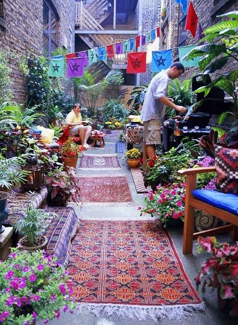 Bohemian Style Backyards : BOHEMIAN, das klingt nach Freiheit und Unkompliziertheit mit einem