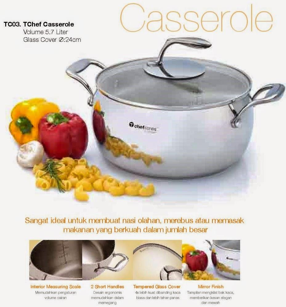 Tokohayyu Tchef Tupperware Fry Pan Casserole
