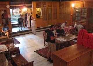 Inside the main atrium of the Cemberlitas Hamami.