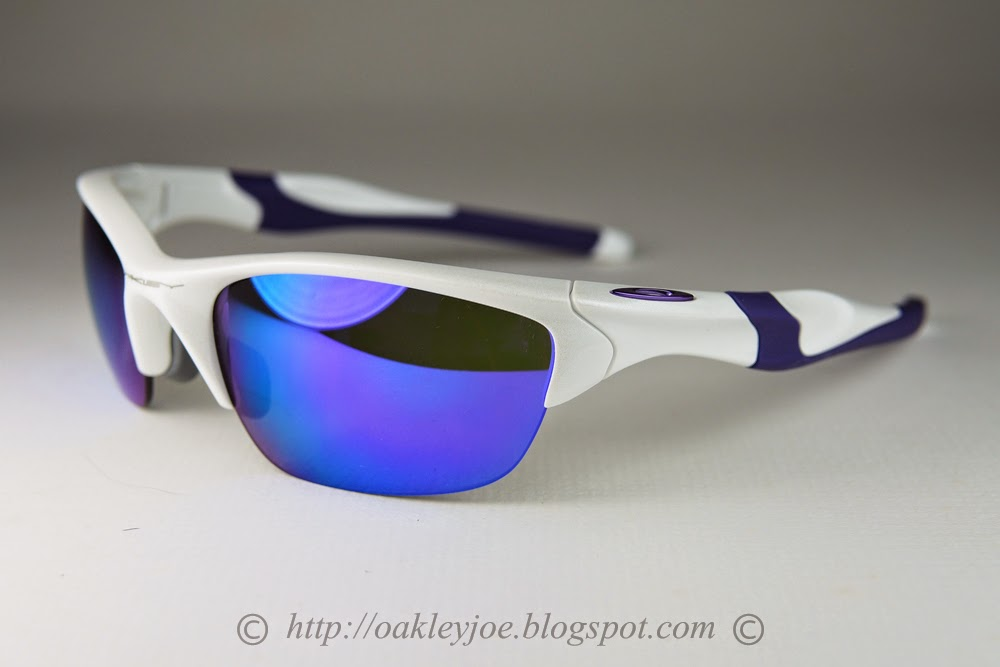 half jacket  oakley half jacket pearl white