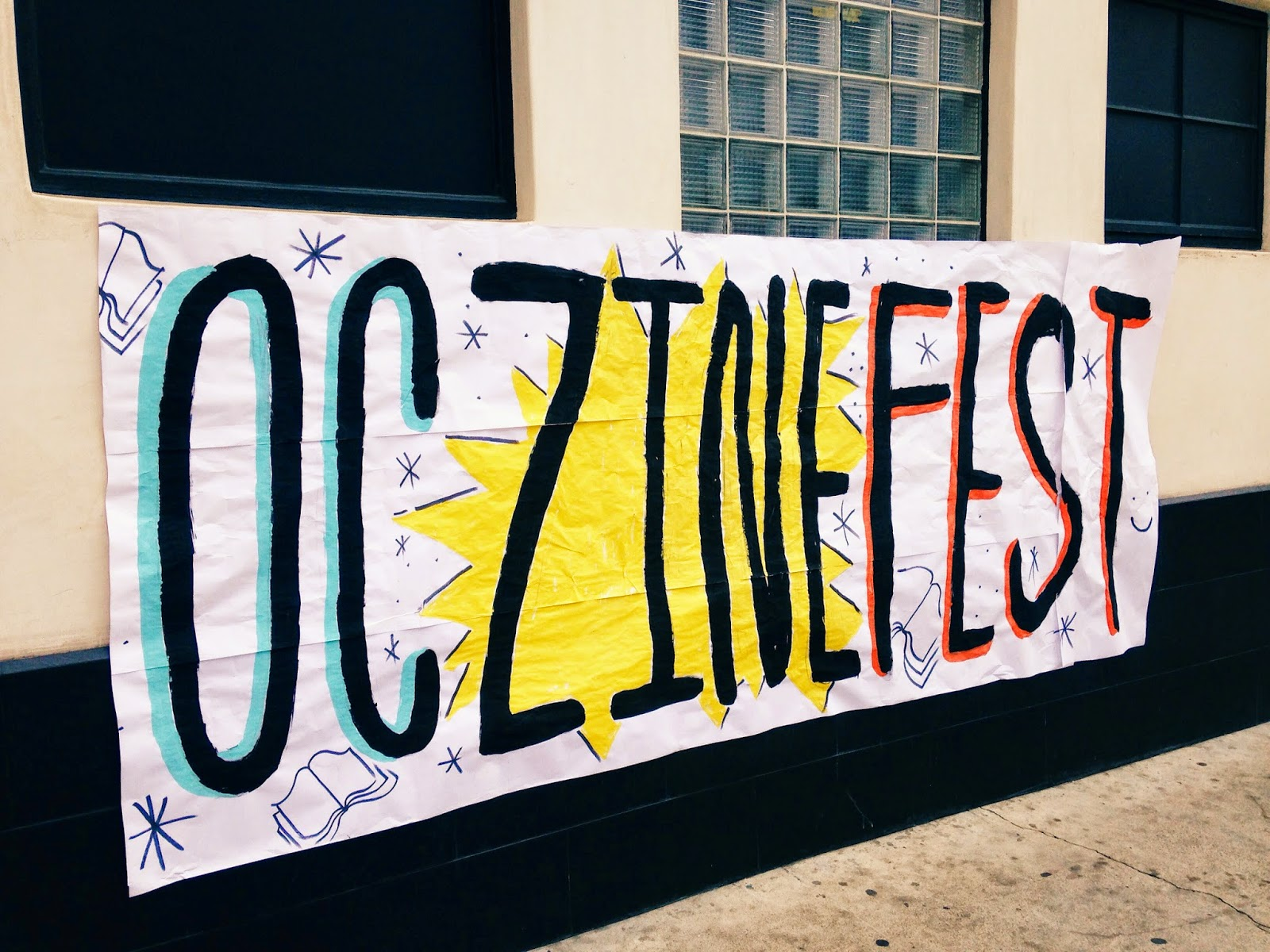 Courtney Tomesch OC Zine Fest Santa Ana California
