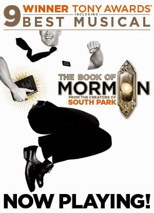 Book Of Mormon: Best Sin Ever.