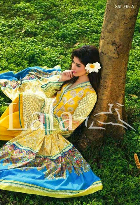sana samia spring lawn collection by lala 7