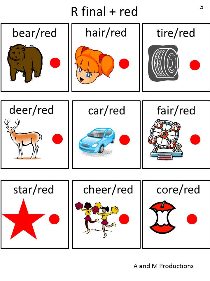 Speech Therapy Tools May 2013 – R Articulation Worksheets