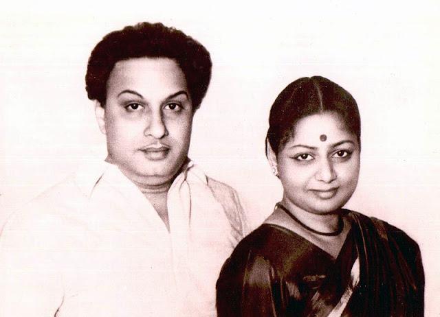 MGR with Janaki MGR 2