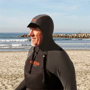 Dave in a PaddleAir Ergo Sun Hoodie