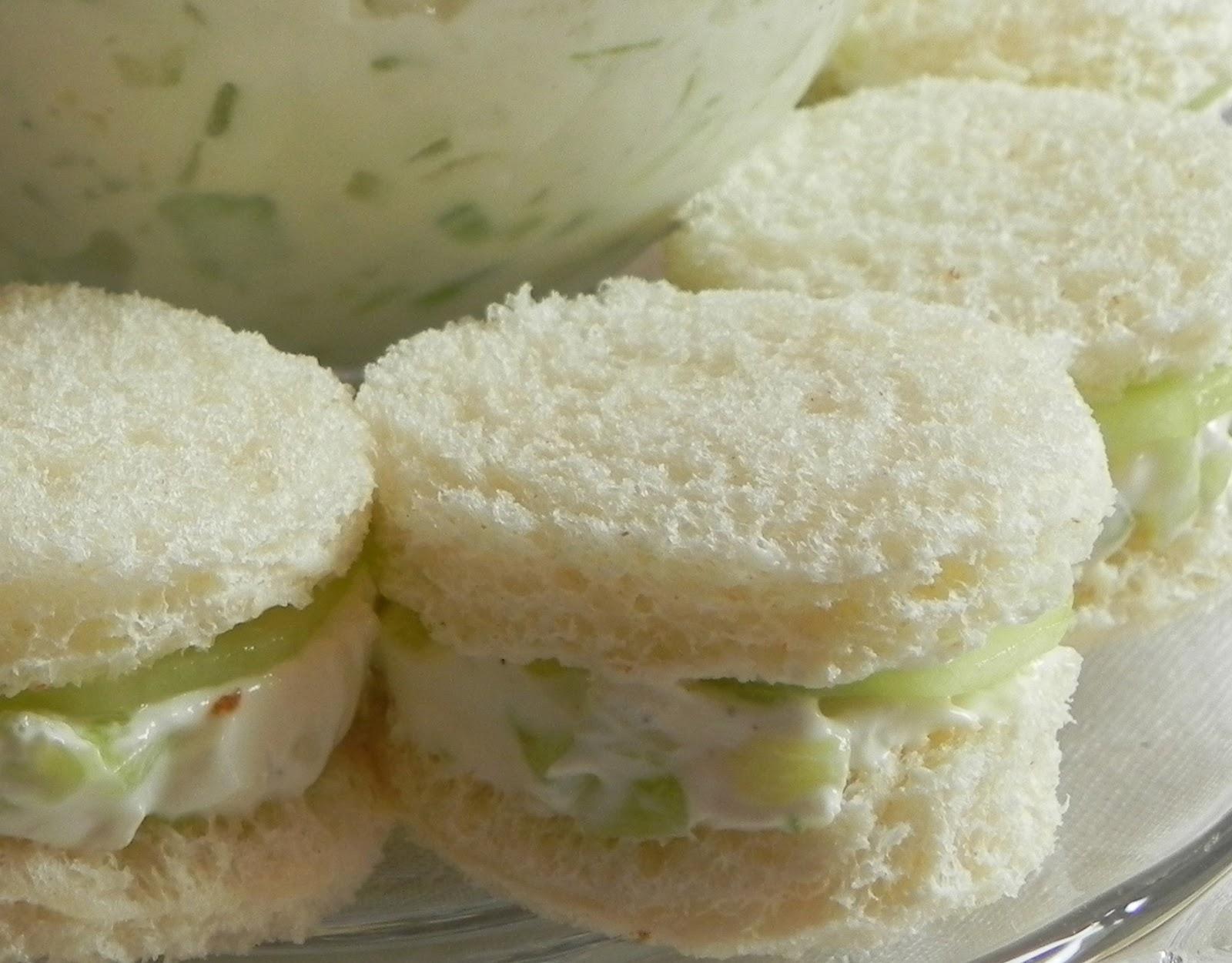Cucumber Sandwich Recipes — Dishmaps
