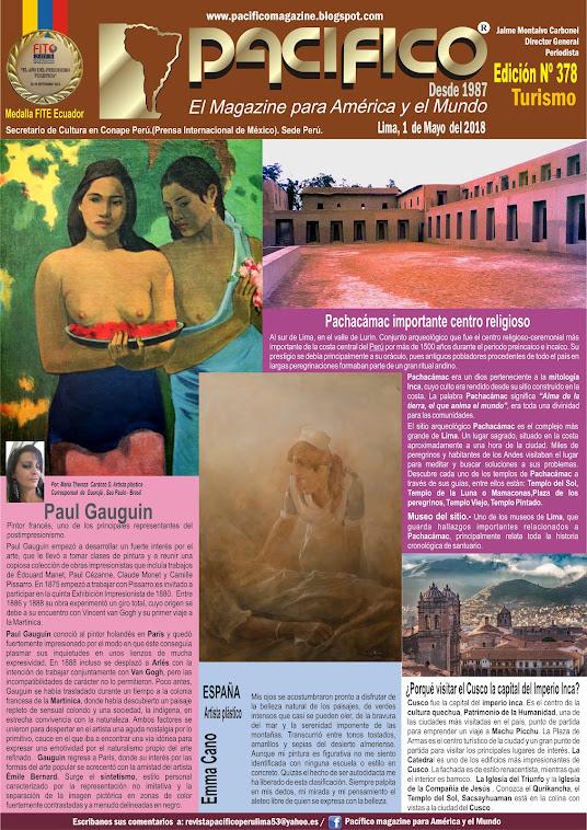 Revista Pacifico Nº 378 Turismo