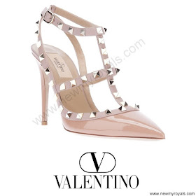 Crown Princess Mary VALENTINO Studded Pumps