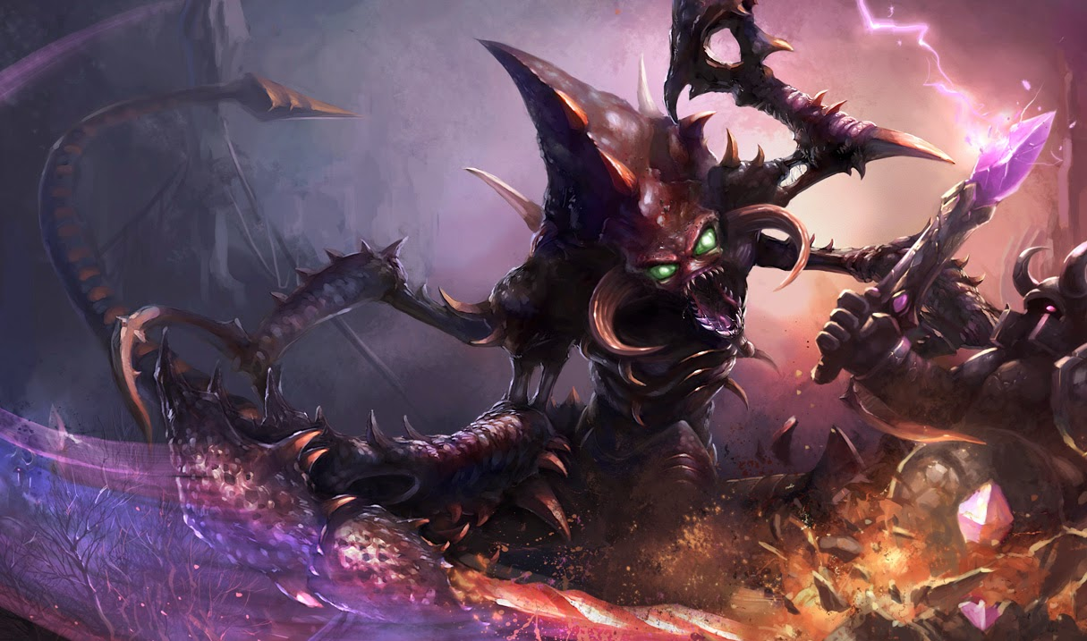 ChoGath League of Legends Wallpaper