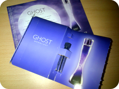 Ghost Moonlight fragrance sample