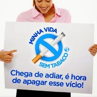 A pessoa pode perder o peso se deixar de fumar