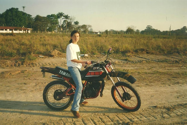 Paixão por motos não se explica