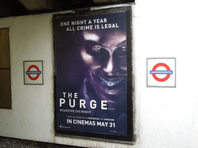 Purge underground poster