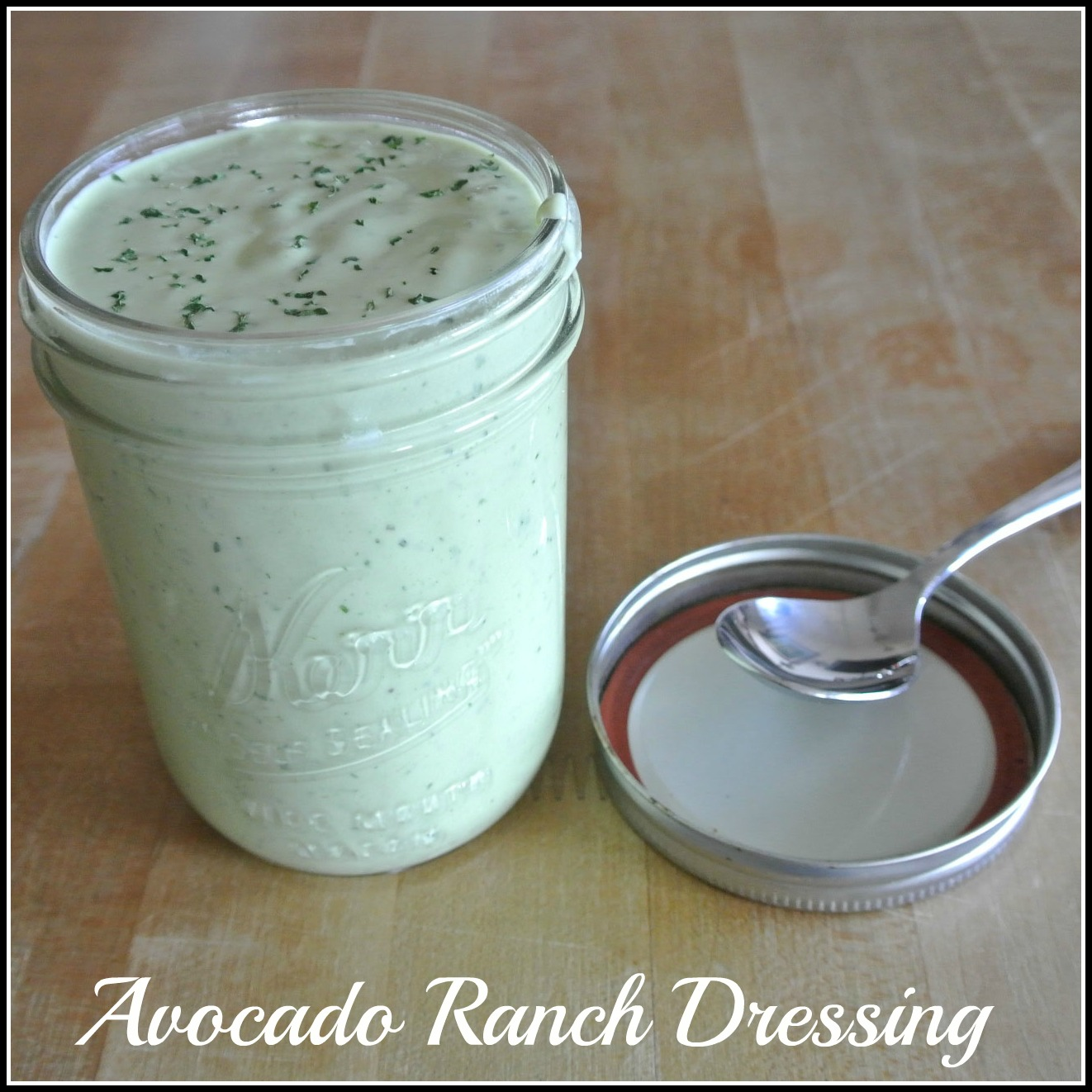 Mom, What's For Dinner?: Creamy Avocado Ranch Dressing