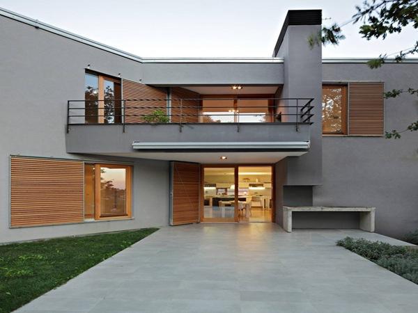Ingenieria y arquitectura for Fachadas con terrazas minimalistas