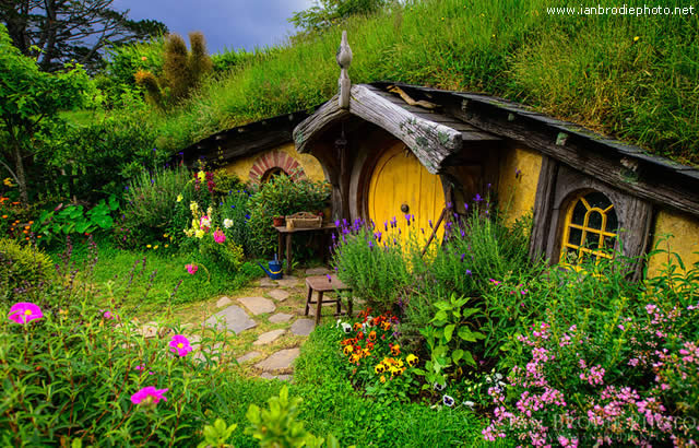 HOBBITON - VILLAGE OF HOBBITS - NEW ZEALAND
