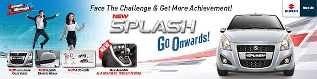 Spesifikasi dan Harga Suzuki New Splash 2013