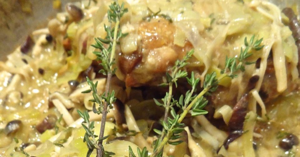 Wild Mushrooms A La Creme Recipe — Dishmaps