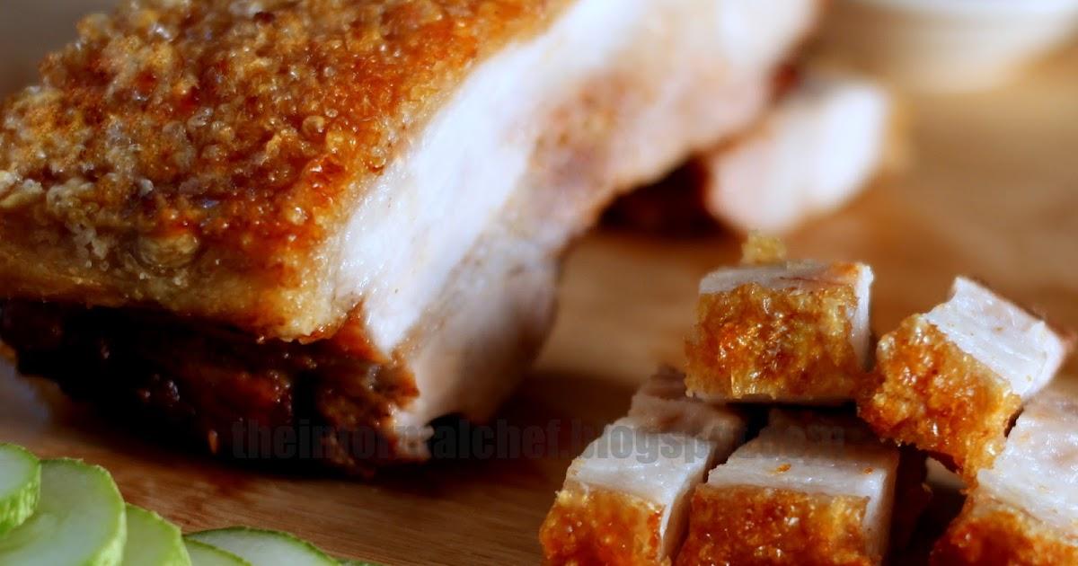 The Informal Chef: Crispy Roast Pork Belly (Siu Yuk) 脆皮烧肉