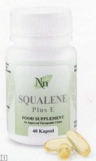 Squalene Plus C berkhasiat sebagai antioksidan minyak ikan hiu dengan Vitamin E dan dapat meningkatkan kekebalan tubuh, menghambat proses penuaan, memperbaiki kesehatan kulit dan mempercepat proses penyembuhan