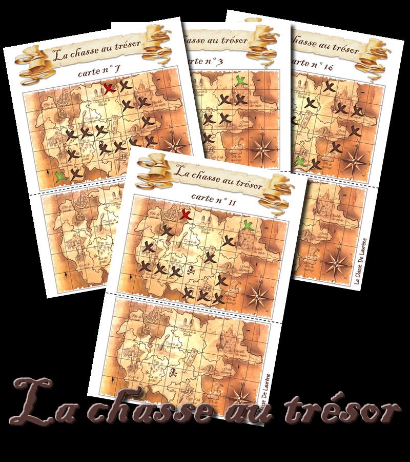Carte Au Tresor Nom Anglais.La Maternelle De Laurene La Chasse Au Tresor