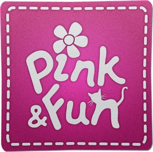 pink fun bloco de anota es personalizado notepad holder scrapbooking. Black Bedroom Furniture Sets. Home Design Ideas