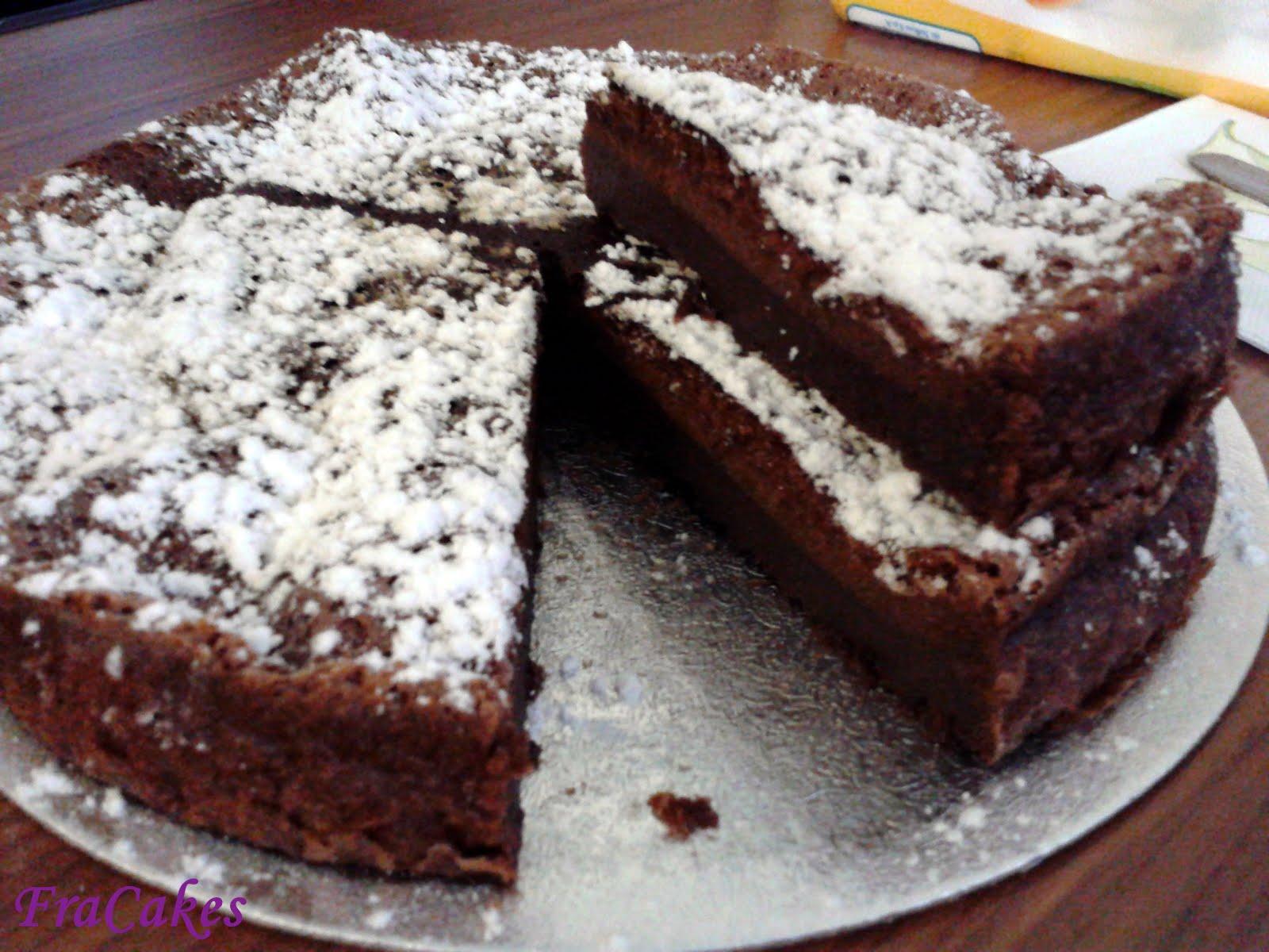 Fracakes 18 11 2012 torta magica alla nutella - Bagno nella nutella ...
