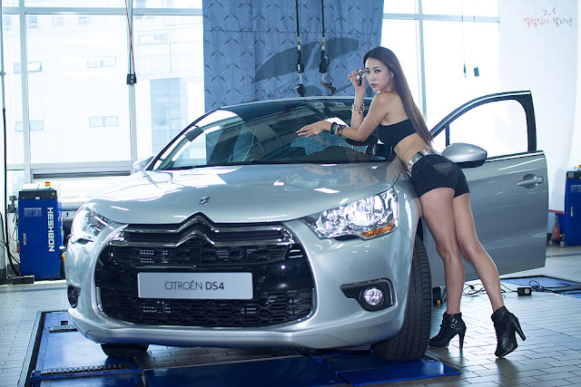 6 Ju Da Ha for Citroen-Very cute asian girl - girlcute4u.blogspot.com