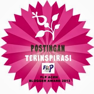 FLP Aceh Blogger Award 2013