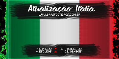 Atualização Itália (Fevereiro) – Brasfoot 2014